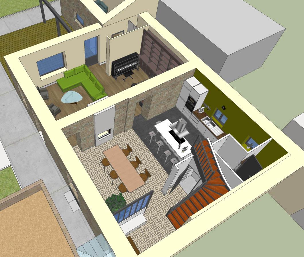 Bruno Bini - projet Rénovation d'une maison à Chalon sur Saône