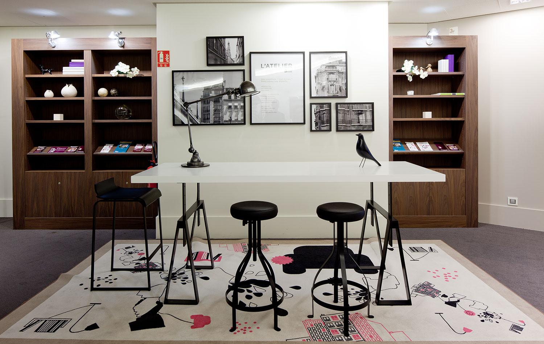 Bruno Bini - projet Bureaux Madeleine