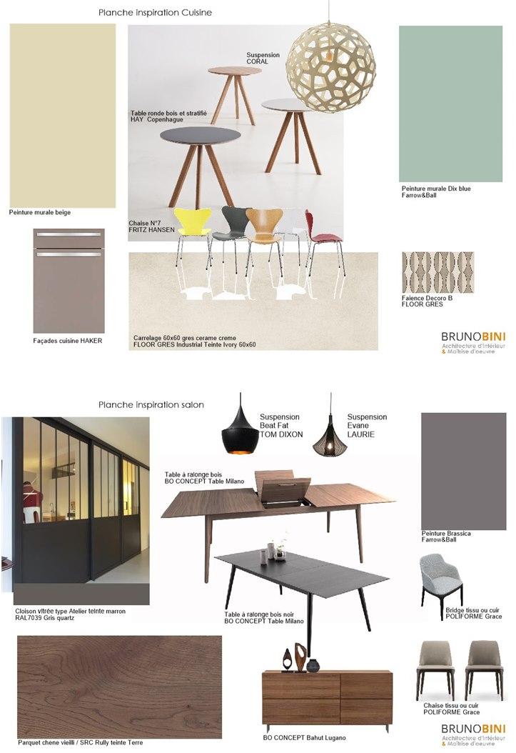 Bruno Bini - projet Rénovation intérieure d'une maison