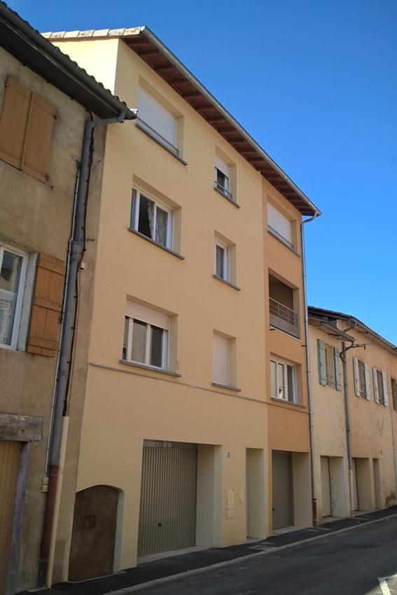 Bruno Bini - projet Rénovation et extension d'un immeuble