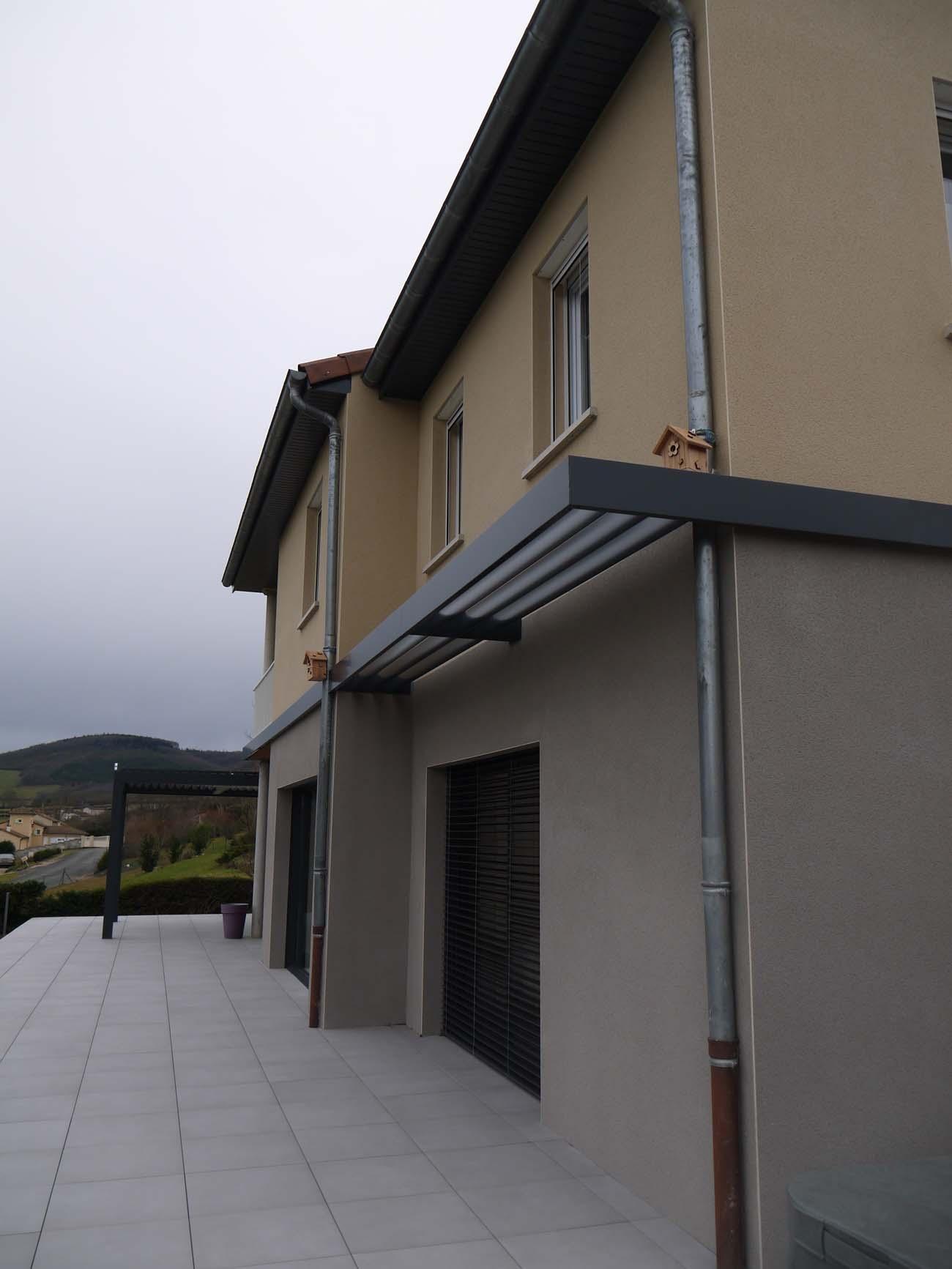 Bruno Bini - projet Rénovation / extension maison en Beaujolais