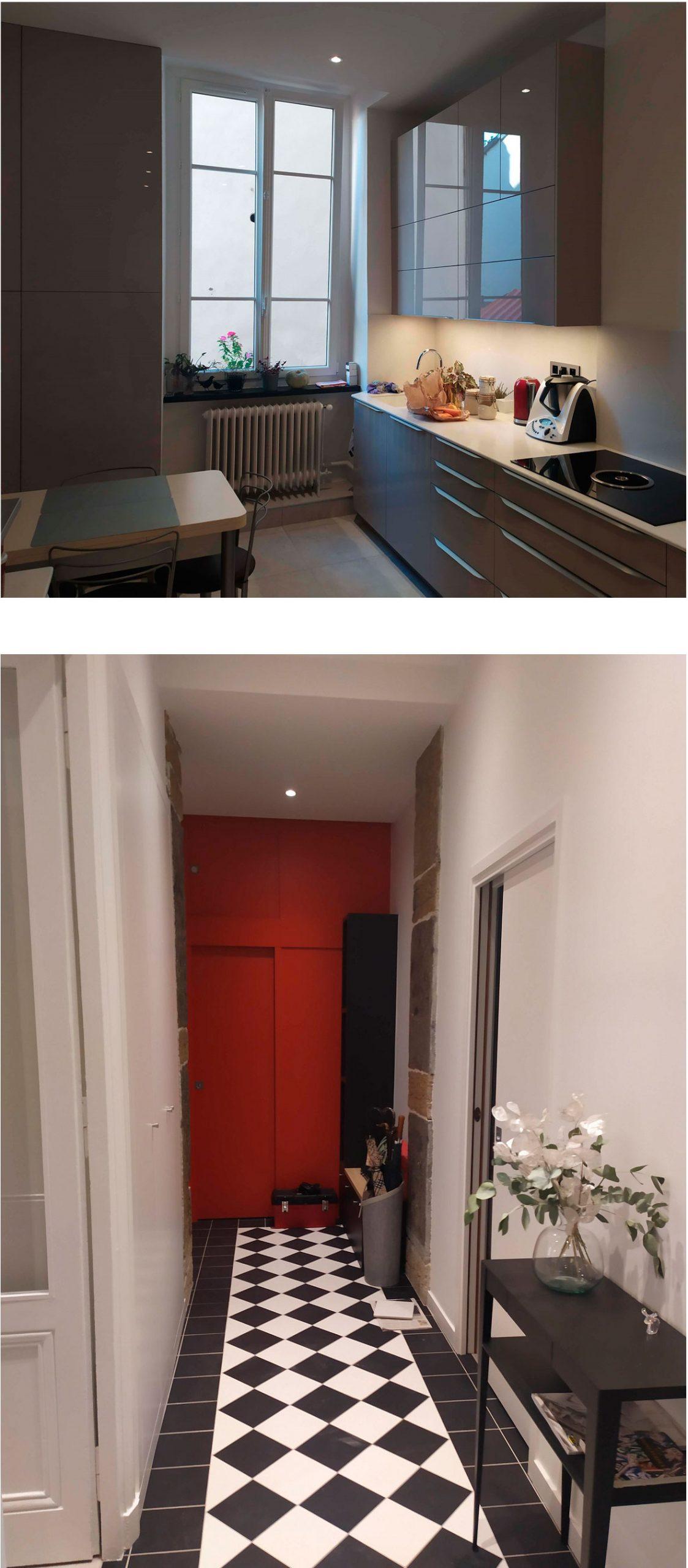 Bruno Bini - projet APPARTEMENT 120m² à Lyon 6eme